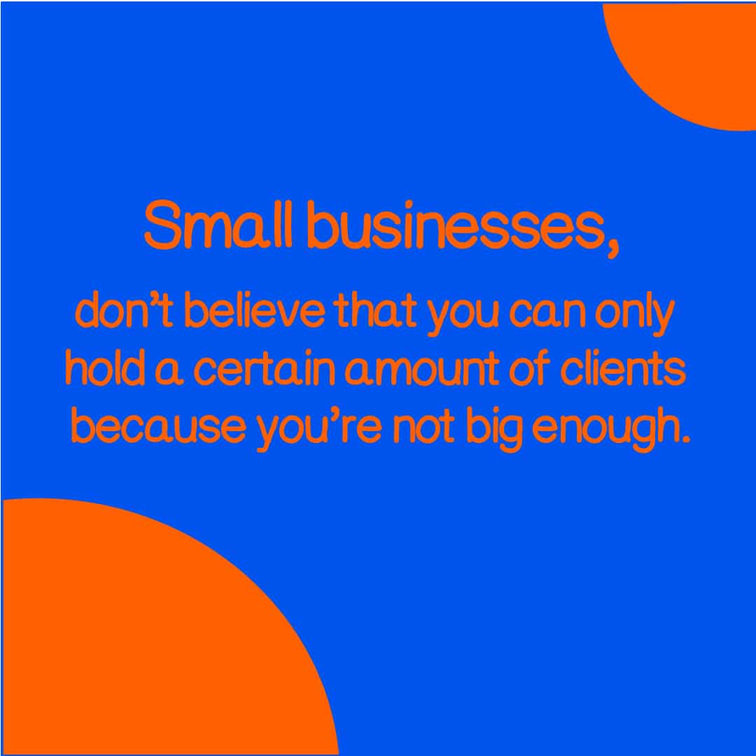 business size clients