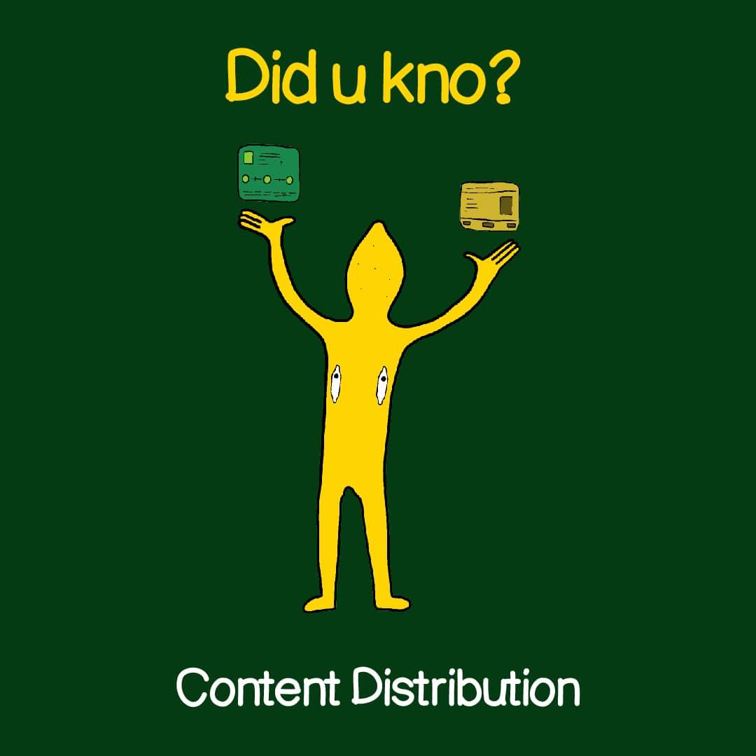 content distribution 1