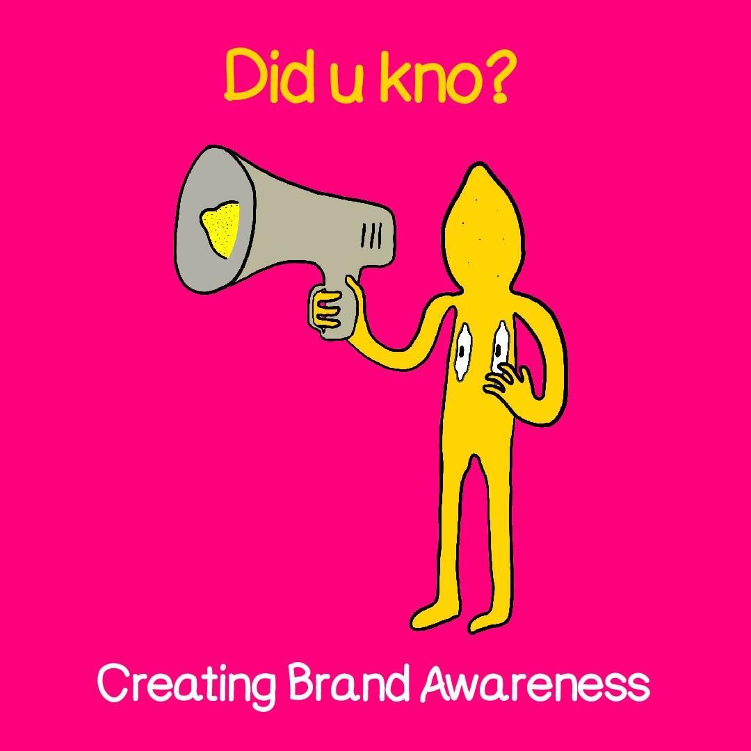 creating brand awareness title