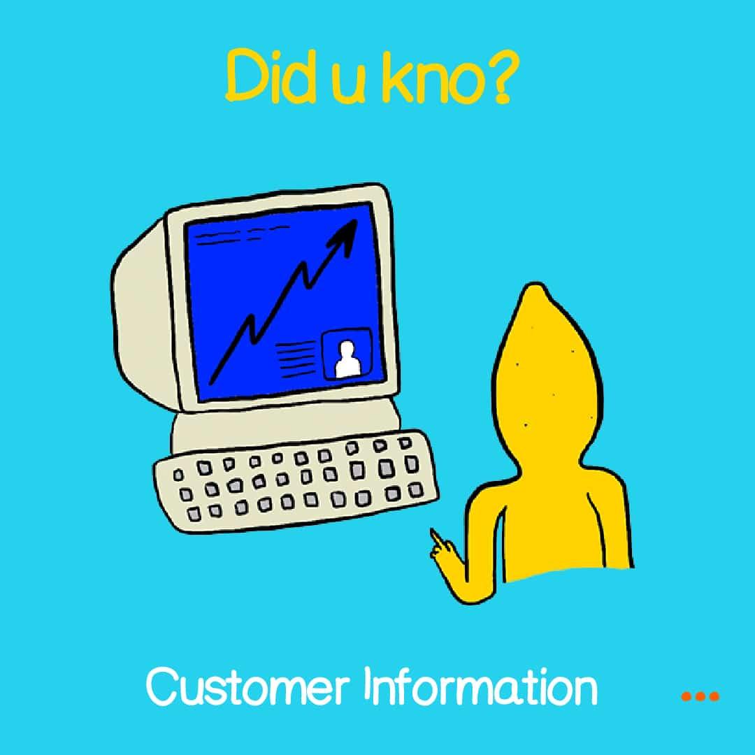 customer information 1