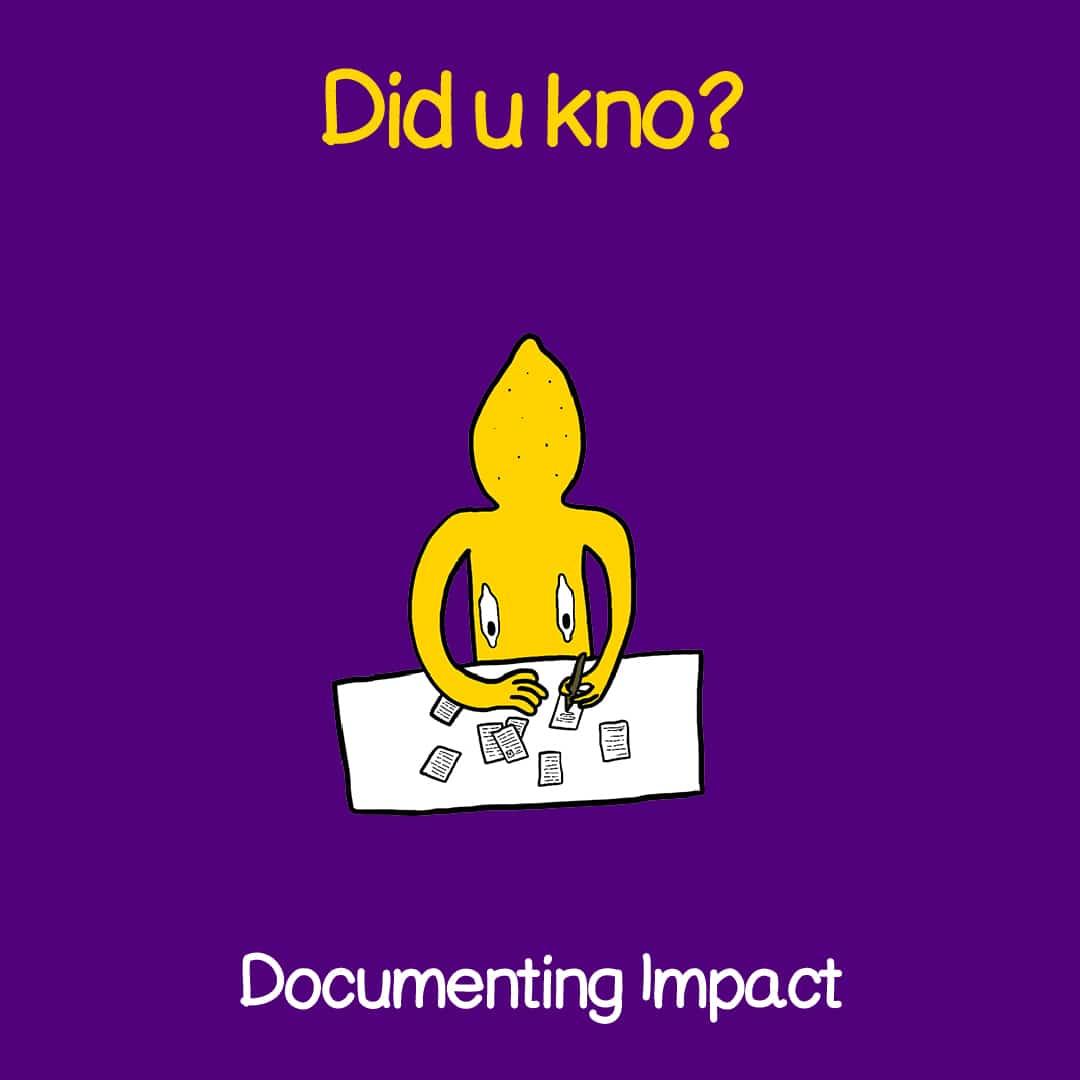 documenting impact 1