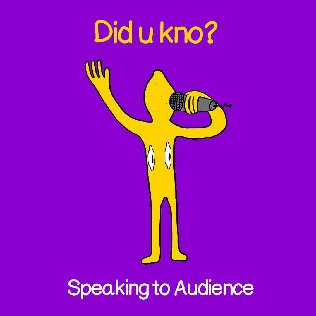 speaking to your audience 1